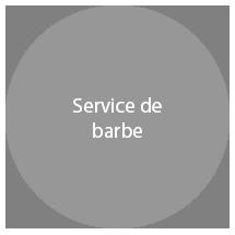 Service de barbe