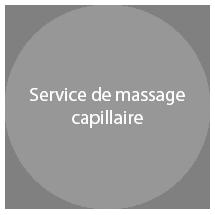 service de massage capillaire