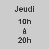 Jeudi 10-20