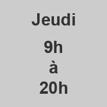 Jeudi 9-20
