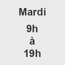 Mardi 9-19