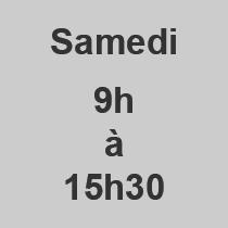 Samedi 9-1530