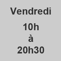 Vendredi 10-2030